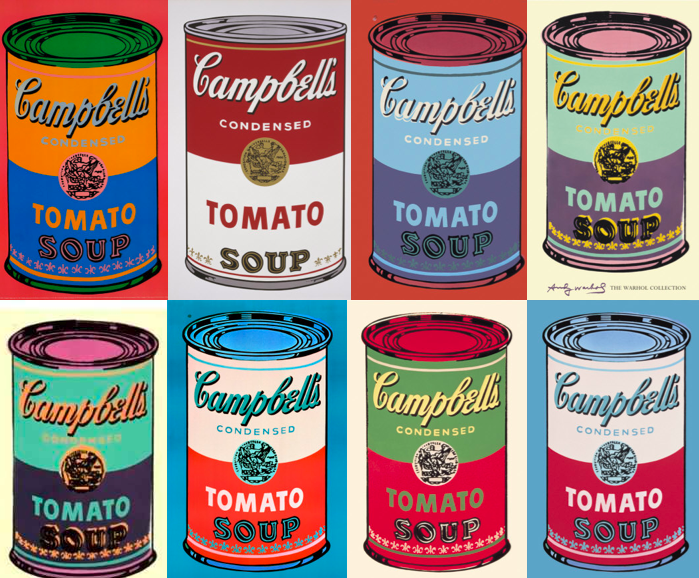 andy warhol and his muse the campbell soup can branditative. Black Bedroom Furniture Sets. Home Design Ideas